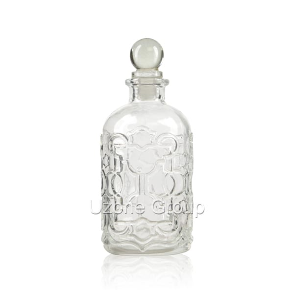 Good Wholesale VendorsGlass Essential Oil Bottles - 220ml Glass Reed Diffuser Bottle With Glass Ball Plug – Uzone