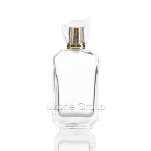 Surlyn कॅप आणि स्प्रेअर सह 100ml ग्लास सुगंध बाटली