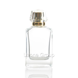 80ml Glass Perfume Bottle With Surlyn Cap And Sprayer