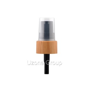 18/410 Bamboo/other wooden collar pump