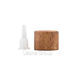 18/410 Rubber wooden/other wooden Lid with plastic dripper