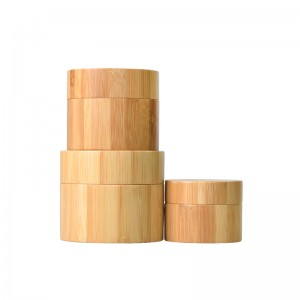 All Covered Bamboo Cream Jar/Bottle