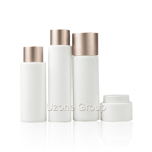 Excellent quality High Quality 30ml Glass Dropper - Opal White Glass Bottle And Cream Jar – Uzone