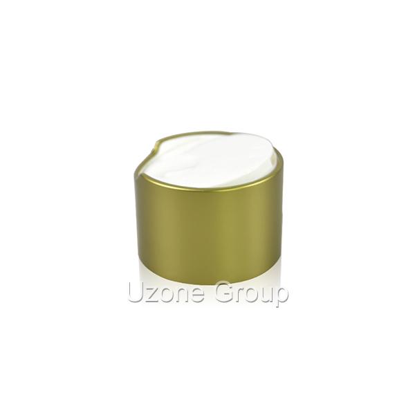 24mm gold aluminium butterfly cap Featured Image