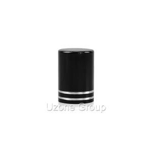 13mm black aluminium cover
