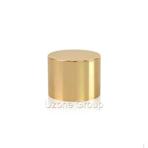 24mm gold aluminium cover