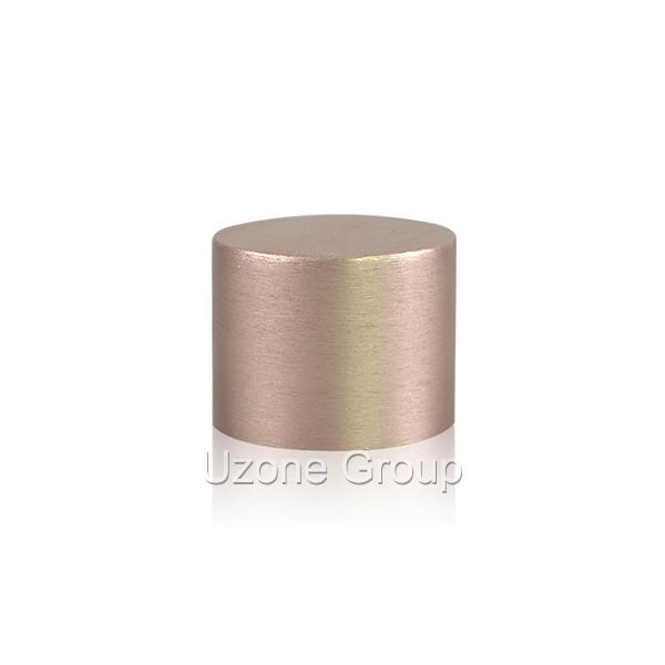 24mm short brushed screw aluminium cap Featured Image