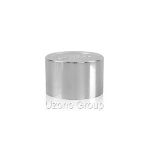 13mm silvery aluminium lid