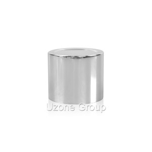 24mm silvery aluminium lid