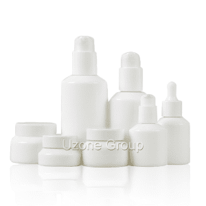 factory Outlets for Dropper Bottle For Oil Packaging - Opal White Glass Bottle And Cream Jar – Uzone