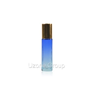10ml blue glass roller on bottle