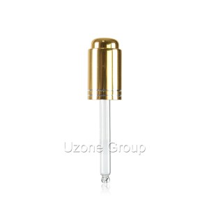 Gold aluminium dropper