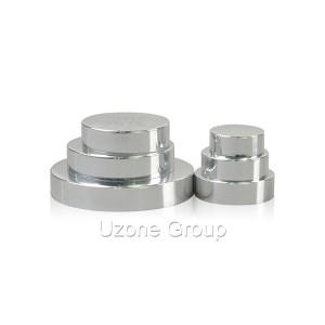 Luxury aluminium cap for cream jar