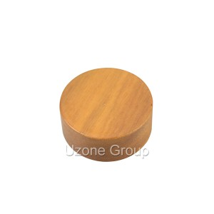 Nanmu wooden lid for cream jar