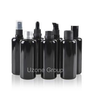 Free sample for Glass Jar With Metal Lid - 100ml dark violet glass bottle – Uzone