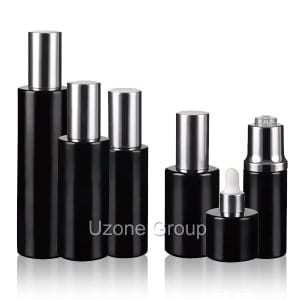 factory low price 30g Luxury Black Cream Jar -